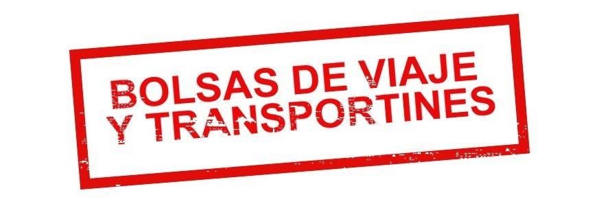 Bolsas de Viaje y Transportines