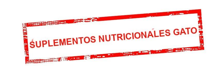 SUPLEMENTOS NUTRICIONALES GATO